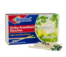 Diamond Strike Anywhere Matches, 300 Count