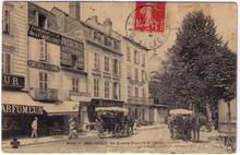 Vichy - Absinthe Oxygenee Cusenier Postcard