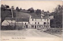 Hotel du Pont de Villiers - Oxygenee Cusenier Postcard