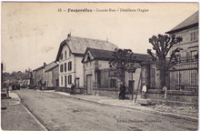 Fougerolles - Distillerie Ougier Postcard