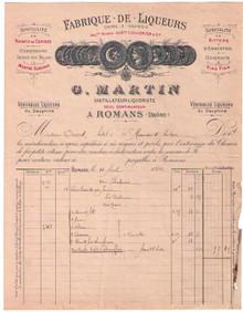 G. Martin Invoice