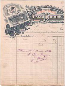 Franc Durieu Invoice