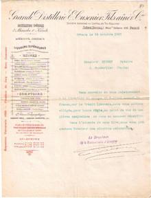 E. Cusinier Invoice