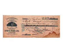 Dutheil Freres & Fils Distillery Money Order