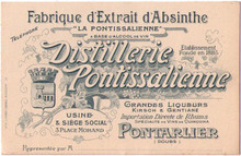 Distillerie Pontissalienne Business Card