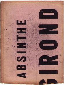 Antique Girond Buvard (ink blotter)