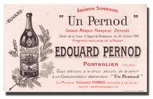 Antique Edouard Pernod Buvard (ink blotter)