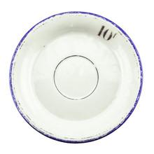 Antique Absinthe Saucer/Coaster, Blue Rim 10f