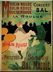 Moulin Rouge  (Bal La Goule) Magnet