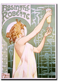 Absinthe Robette Note Card