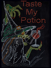 Ovrs4370 - Taste My Potion Witch with Drink