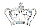 Ovrs1181 - Clear Crown in Stones
