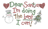 Ovrs2357 - Dear Santa I Am Doing the Best I Can