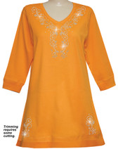 Style # 1114 - Orange w/ Design # Ovrs5196 (Silver) Opt A
