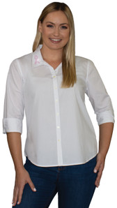 Style # 2002 - White w/ Design # Ovrs1307s (Collar)