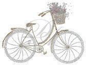 Ovrs594 - Bicycle with Basket