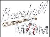 Ovrs4522 - Baseball Mom & Baseball Bat - ON SALE!