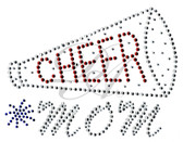 Ovrs4569 - Cheer Mom with Megaphone - ON SALE!
