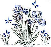 Ovrs211 - Iris Flower