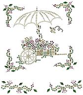 Ovrs1638 - Flower Cart