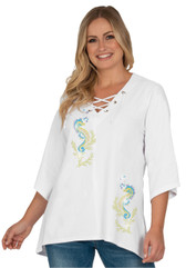 Style # 1714 - White w/ Design # Ovrs9803s