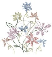 Ovrs2504 - Multi-Color Assorted Flowers