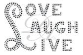 Ovrs3255 - Love Laugh Live