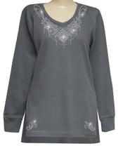 Style # 1713 - Gray w/ Design # Ovrs7578