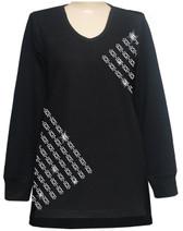 Style # 1713 - Black w/Design # Ovrs817B