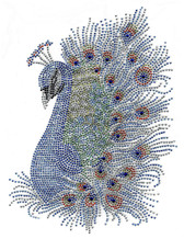 Ovrs7324 - Elaborate Peacock