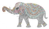 Ovrs7327 - Ornate Elephant