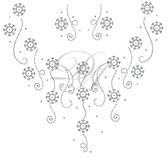 Ovrs7338 - Snowflake Crew Neckline