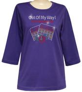 Style # 1706 - Deep Purple w/ Design # Ovrs7455