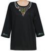 Style # 1706 - Black w/ Design # Ovrs7577