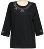Style # 1706 - Black w/ Design # Ovrs5312 (Light Pink)