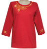Style # 1706 - Red w/ Design # Ovrs7576 (Topaz)