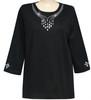 Style # 1706 - Black  w/ Design # Ovrs7616