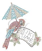 Ovrs546 - Tiki Time w/ Parrot & Umbrella