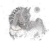 Ovrs1648 - Horse w/ Moon