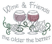 Ovrs5234 - Wine & Friends the Older the Better