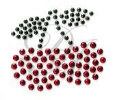 Ovrs112B - 2 Cherries (Studs)