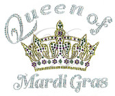 Ovrs5906 - Queen of Mardi Gras w/ Crown