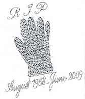 Ovrs3043 - RIP August 1958 - June 2009 w/ Glove