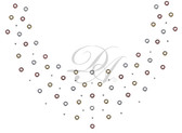 Ovrs7419 - Tri-Color Grommet Round Neckline