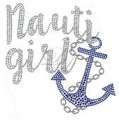 Ovrs7414 - Nauti Girl w/ Anchor