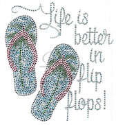 Ovrs7415 - Life is Better in Flop Flops