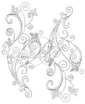 Ovrs7425 - Enchanting Swirl Decor