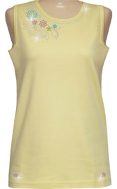 Style # 1002 - Yellow w/ Design # Ovrs7424