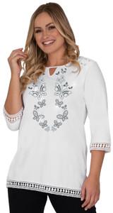 Style # 1721 - White w/ Design # Ovrs6131