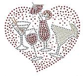 Ovrs4221 - 4 Drinks in a Heart